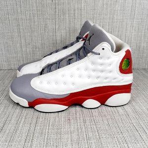 Nike Air Jordan 13 Retro GS 'Grey Toe' 2014 Sz 8.5